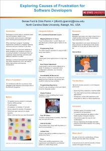 poster presented at conference